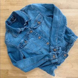 Forever 21 Denim Jacket Size Extra Small